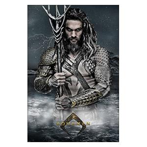 Aquaman. Размер: 20 х 30 см